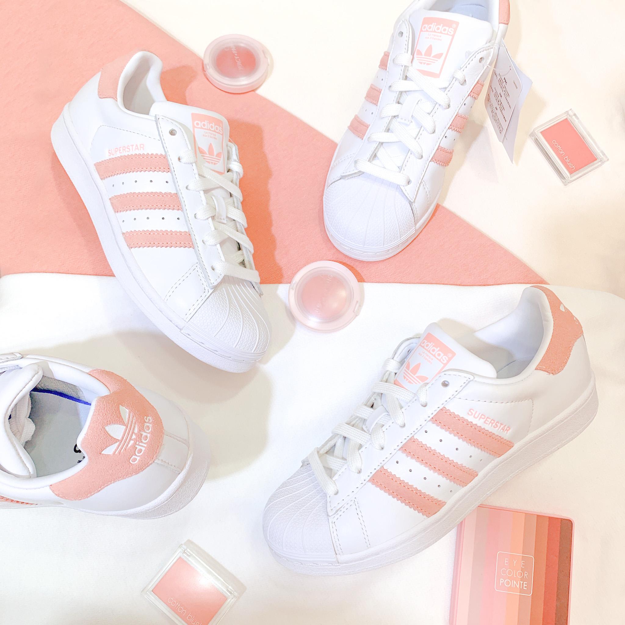 adidas superstar rosa blush